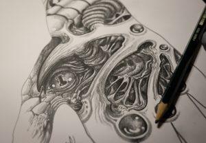 Skizze by graynd, sketch